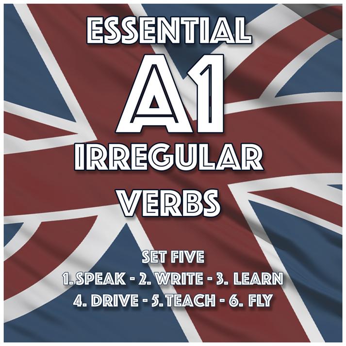 Essential A1 Irregular Verbs – Set Five