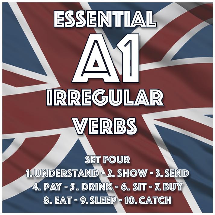 Essential A2 Irregular Verbs – Set One