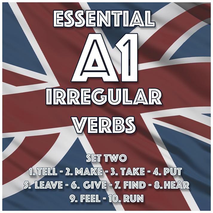 Essential A1 Irregular Verbs – Set Two