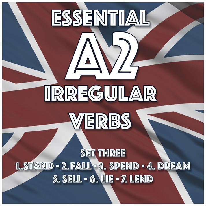 Essential A2 Irregular Verbs – Set Three